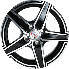 NZ Wheels F-1 6.5*16 5*112 ET 50 D57.1 BKF